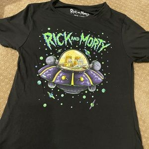 NWT Women's Rick And Morty shirt